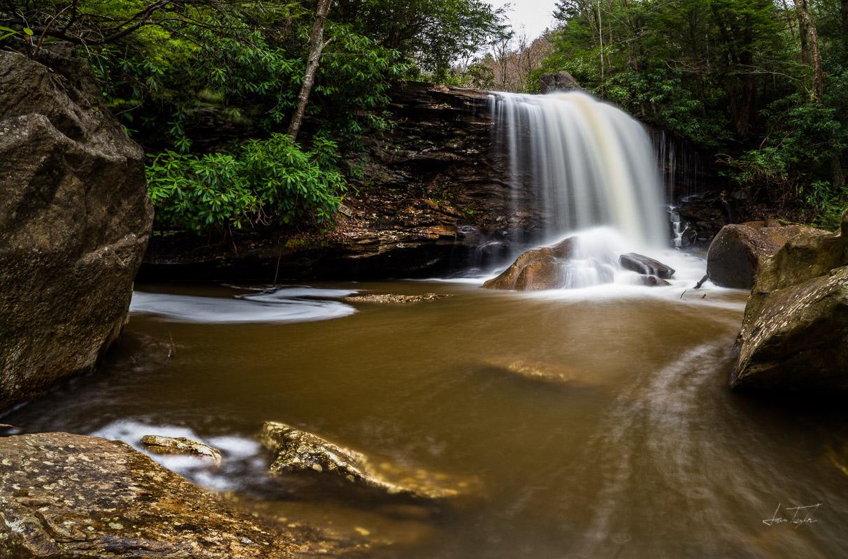 Handed Down (Lower Falls Pendleton Run) - West Virginia