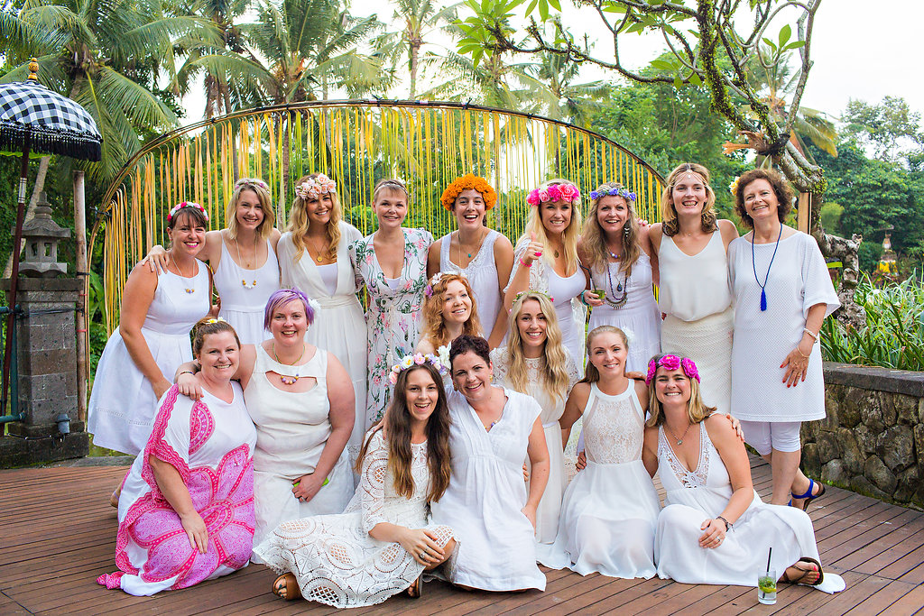 Ubud, Bali with some of my amazing fellow coaching trainees on Graduation Day.   Image: Fi Mims Photography