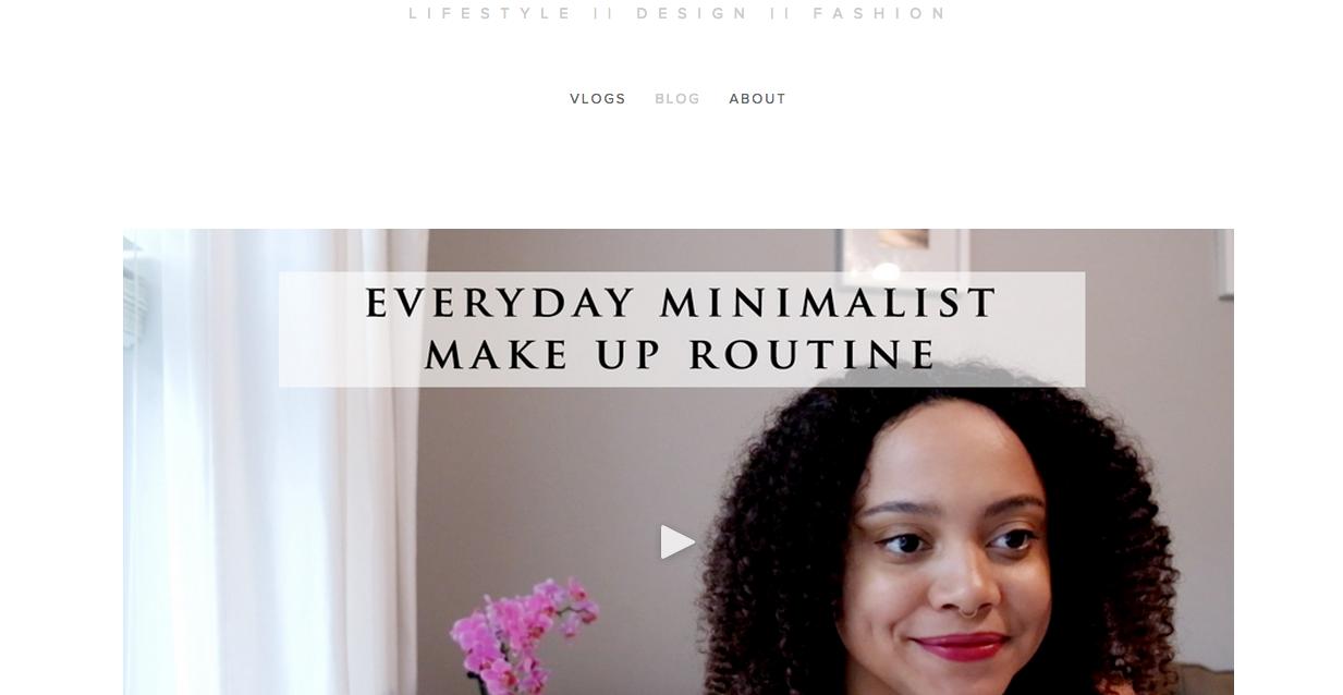 black minimalists
