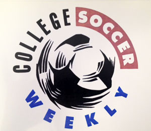 Logo for College Soccer Weekly, the website I wrote for in 1996