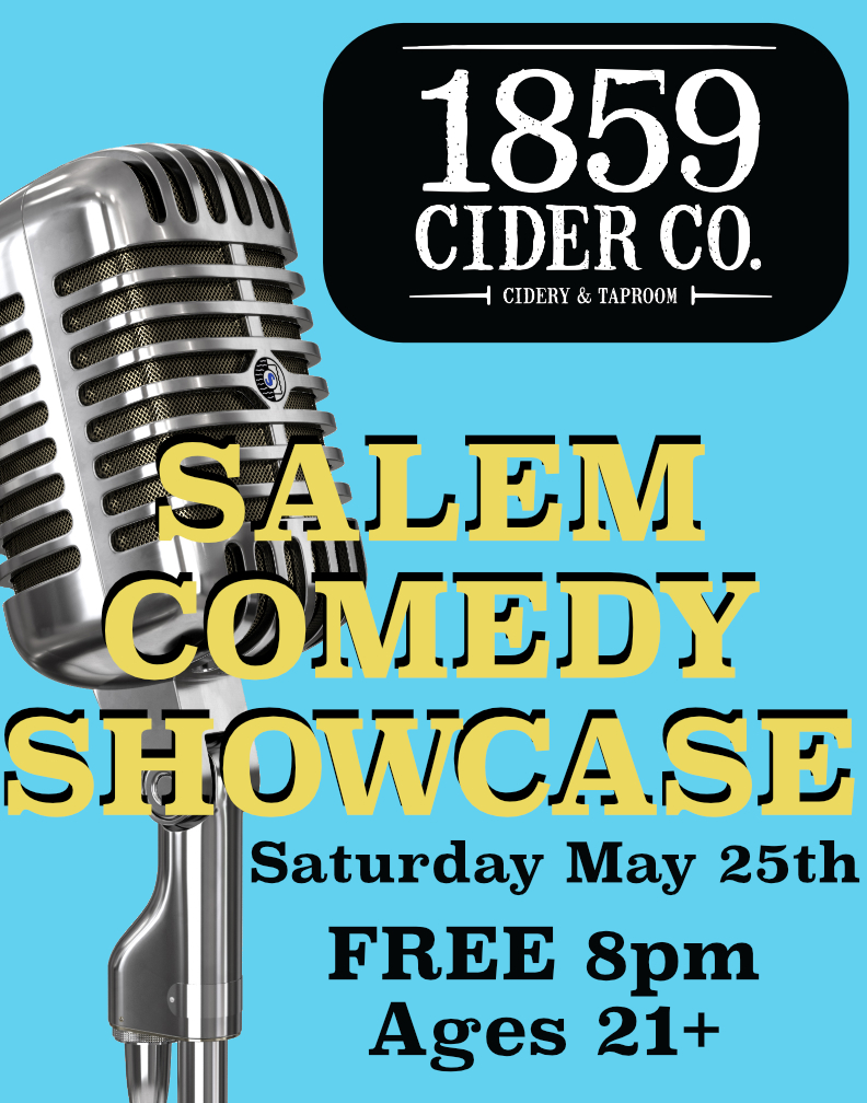 For the first time ever, 1859 is hosting stand up comedy in the taproom!  Performers TBA!  FREE!