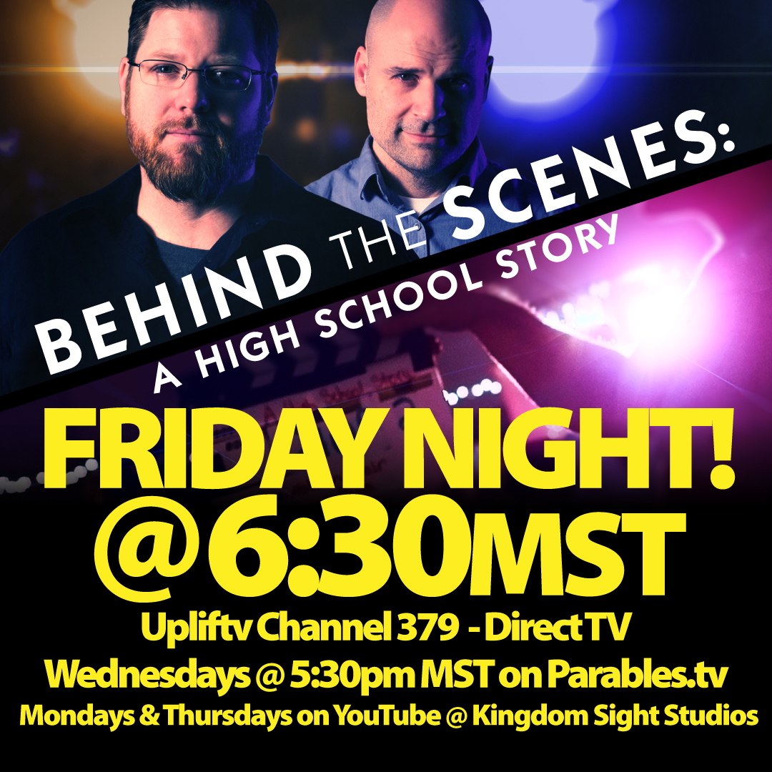 "Our new series ""Behind the Scenes"" starts airing tomorrow night! https://www.youtube.com/channel/UCihVOridT5cW6jmag8Rj5XA"