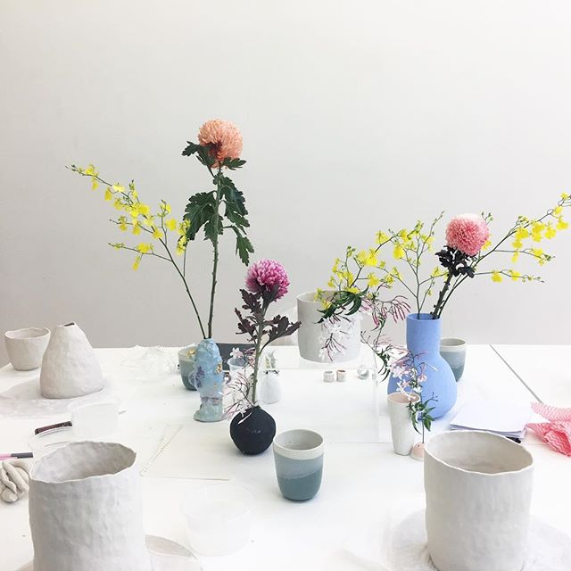 Next Saturday is my Porcelain Vase Making class @guildofobjects 🌿  tickets available on their website 🌸(link in bio)