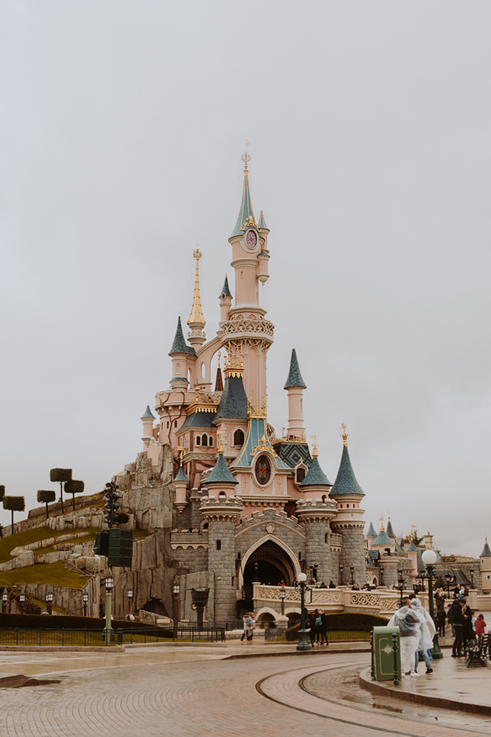 Disneyland Paris - Located an hour outside the city center by train, Disneyland Paris features architecture and rides one won't find in the states. Eat a crêpe next to the castle or take a ride on a steam punk themed Space Mountain with loops and corkscrews. Don't miss this ride along with Ratatouille, Thunder Mountain, and Crush's Coaster when visiting this park and its sister park Walt Disney Studios.
