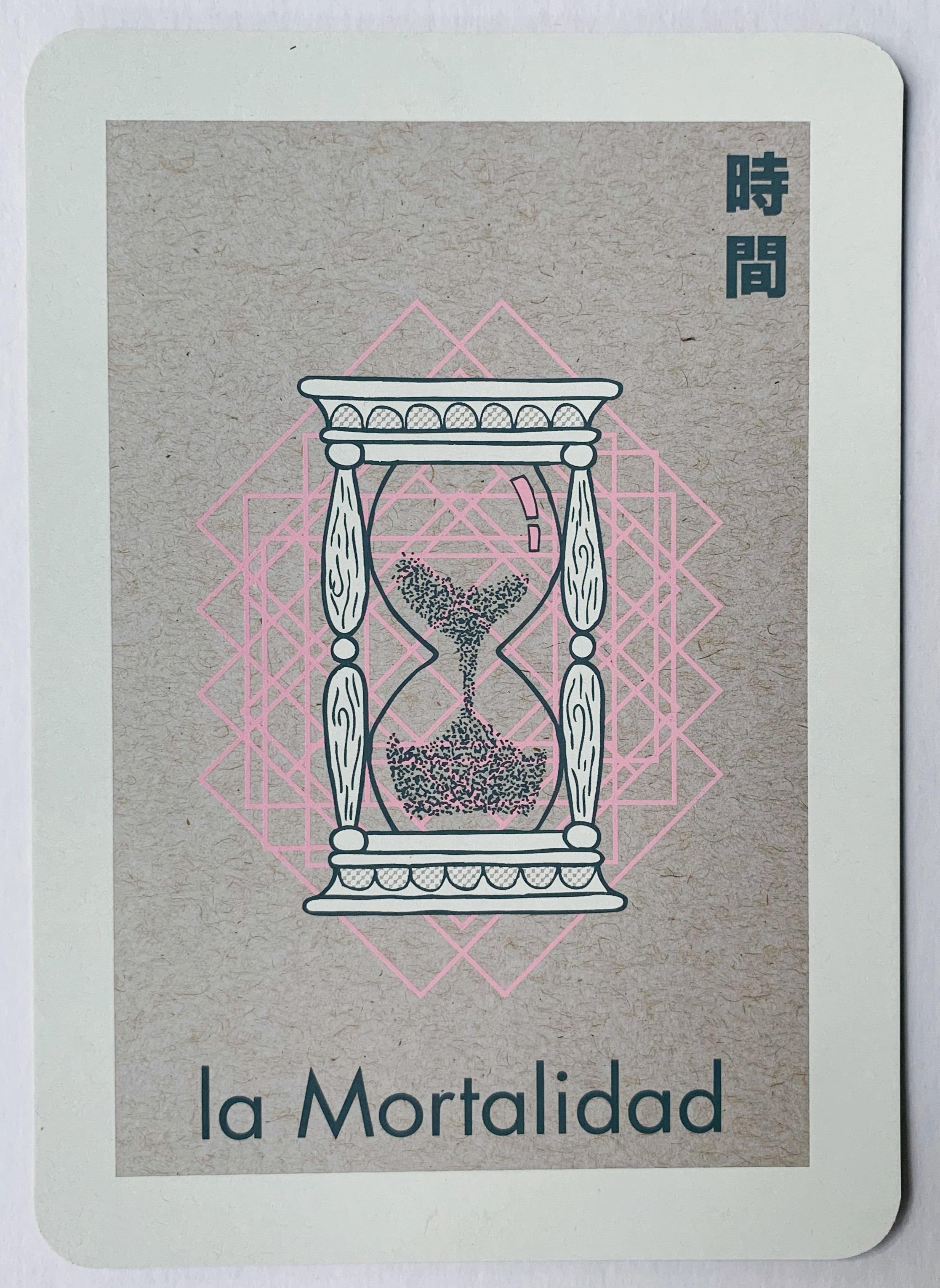la Mortalidad, serigraphy, 2017