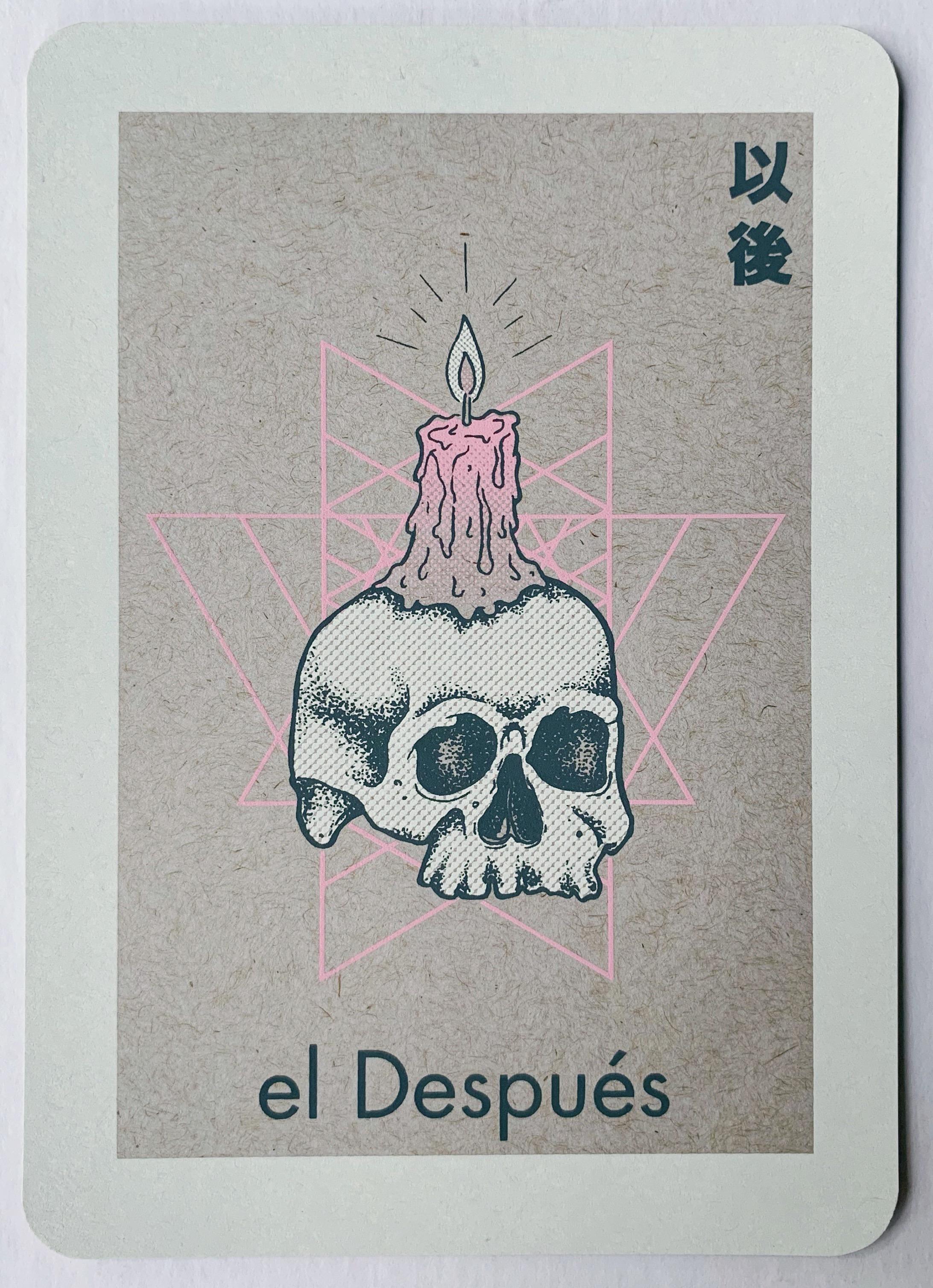 el Después, serigraphy, 2018
