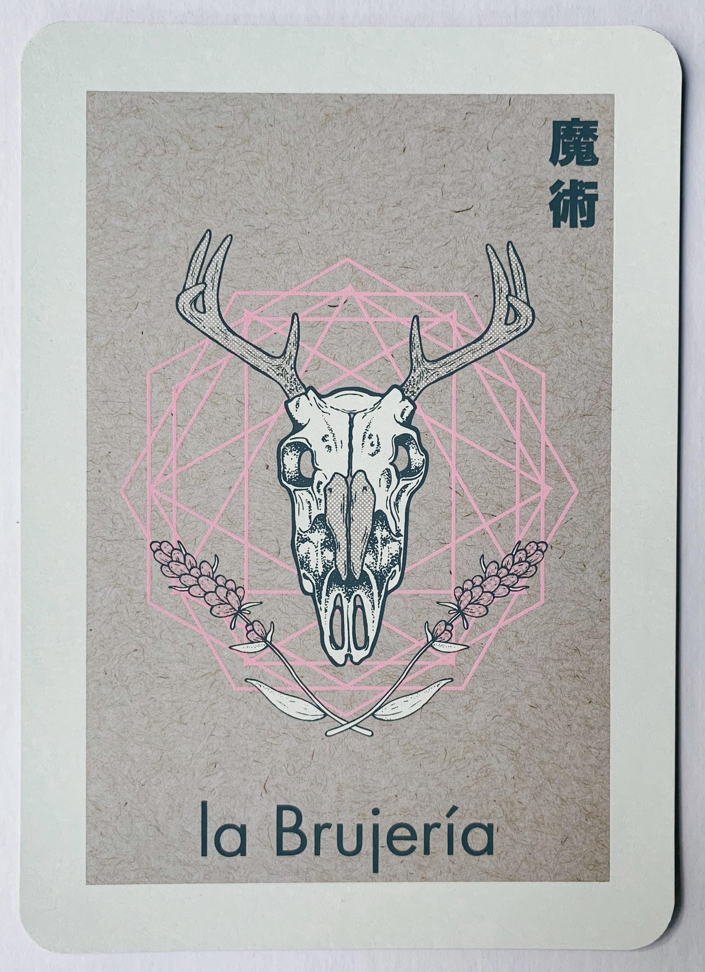la Brujería, serigraphy, 2018