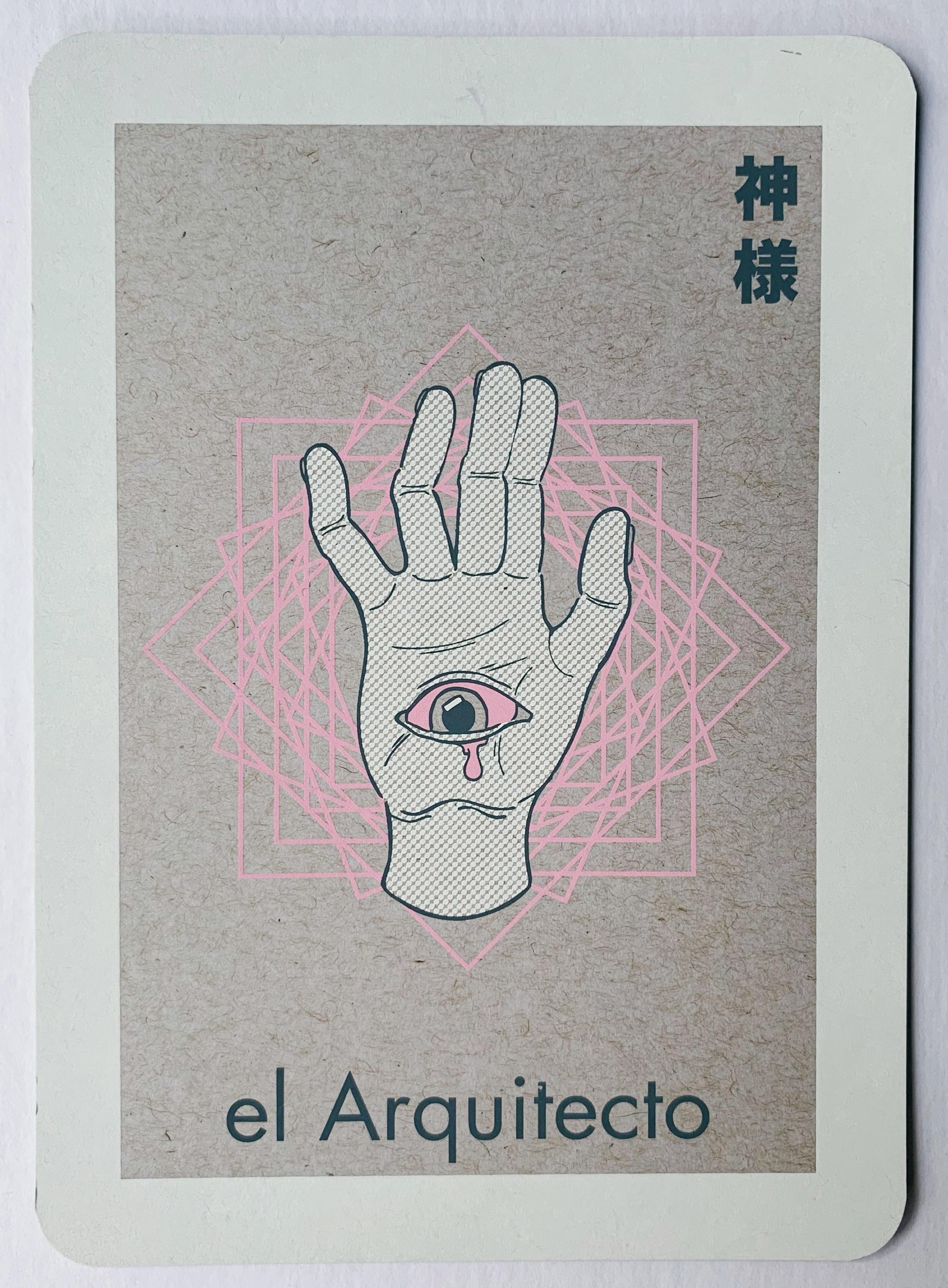 el Arquitecto, serigraphy, 2017