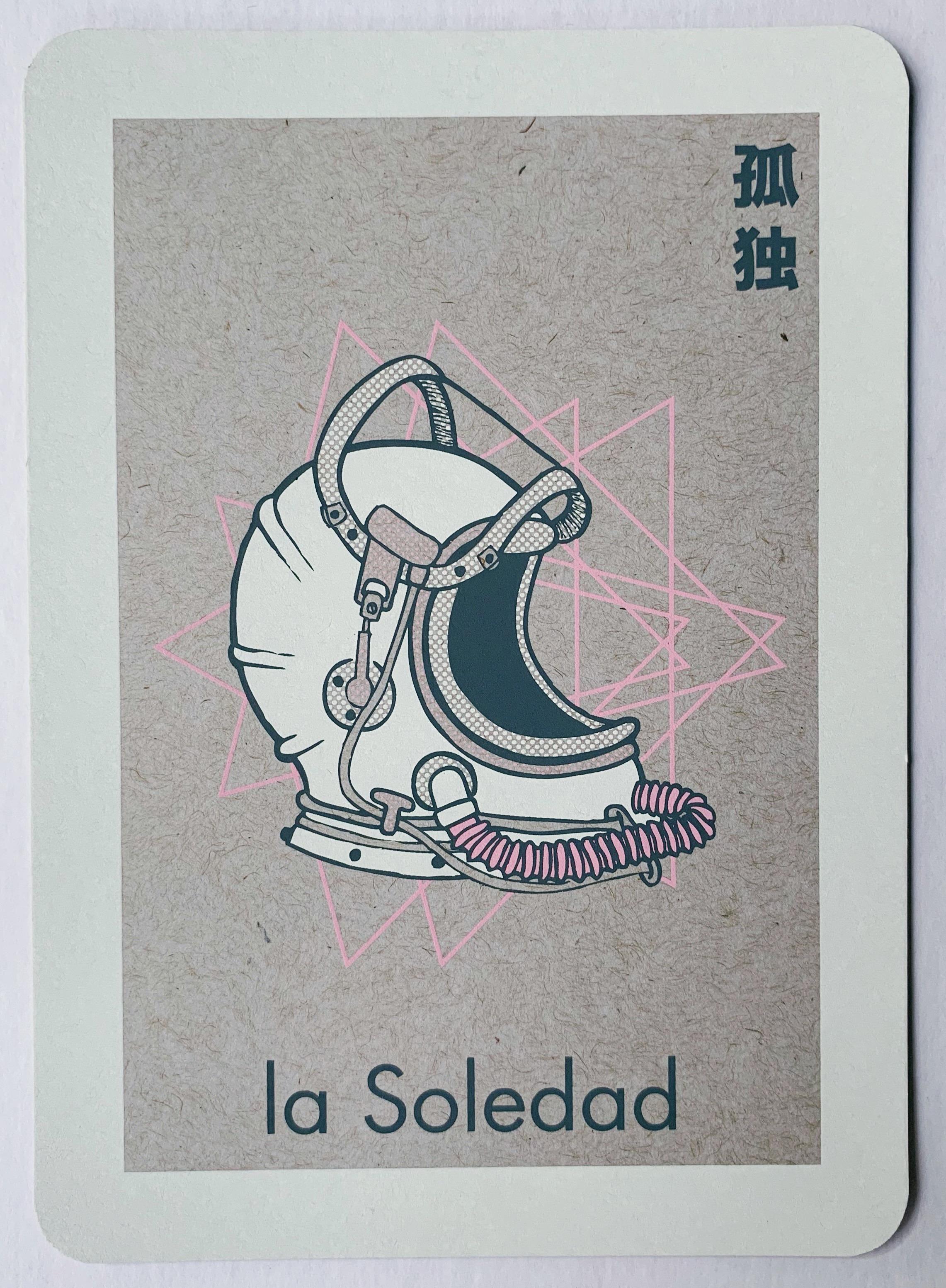 la Soledad, serigraphy, 2017