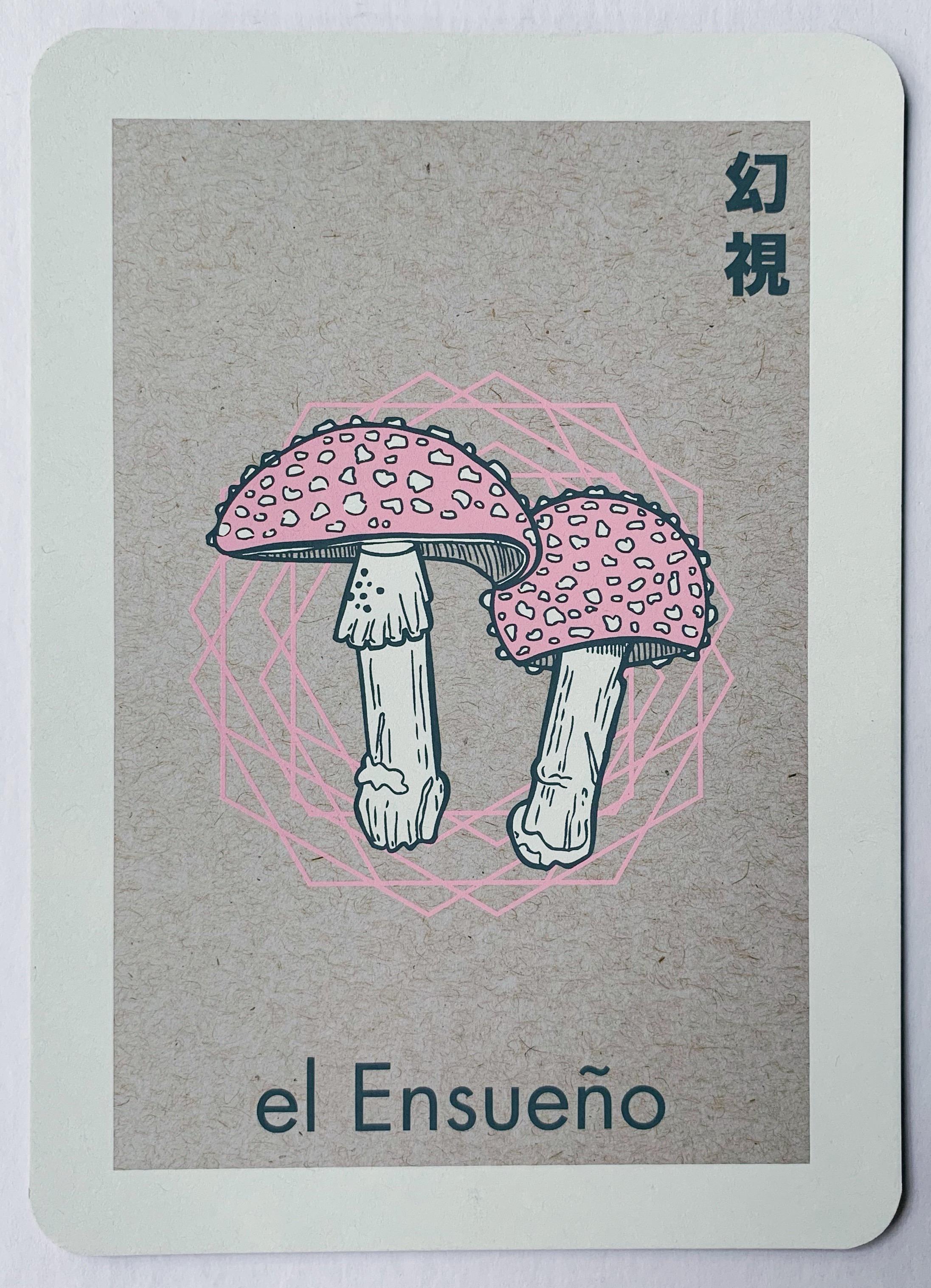 el Ensueño, serigraphy, 2017