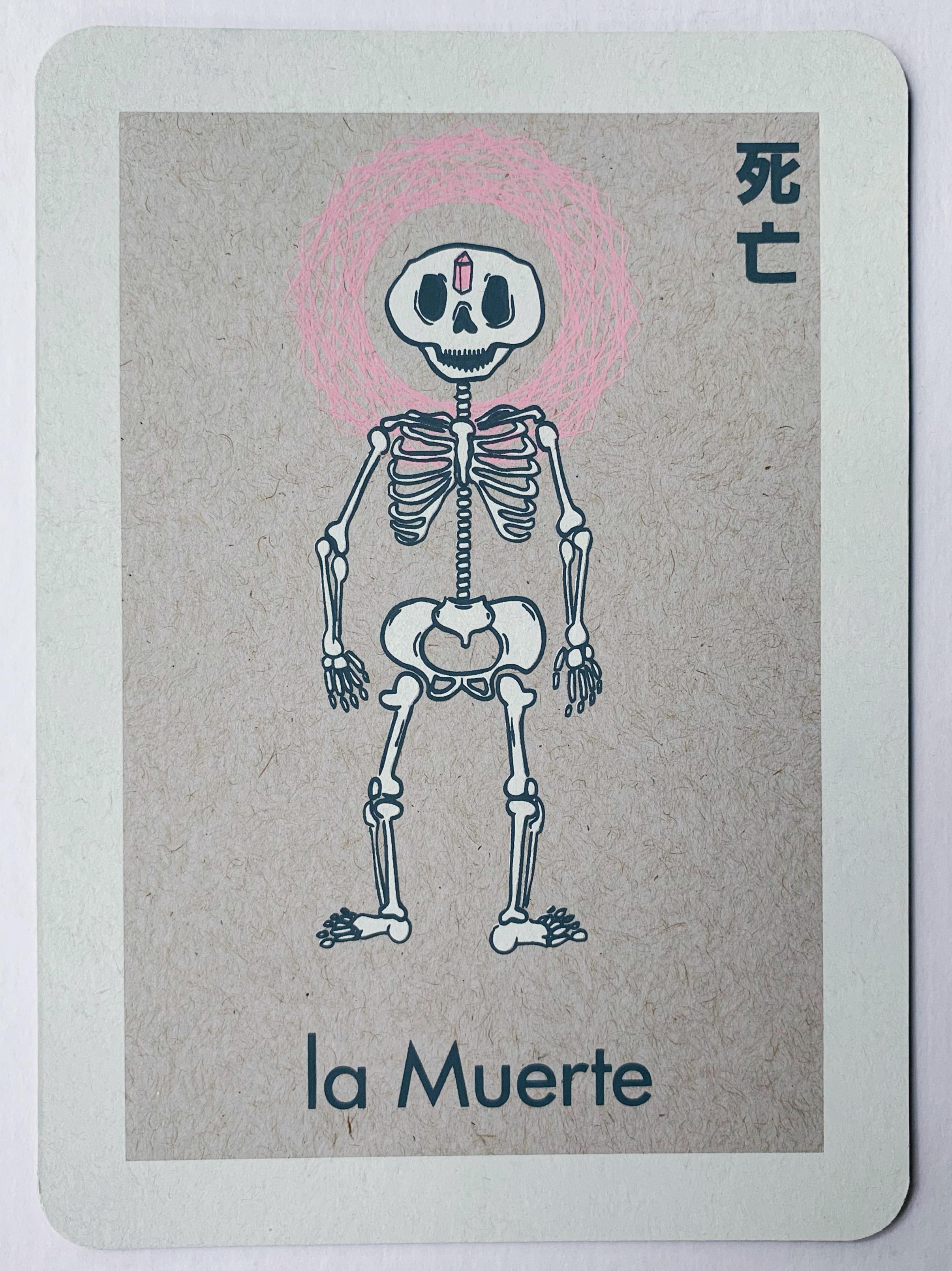 la Muerte, serigraphy, 2017