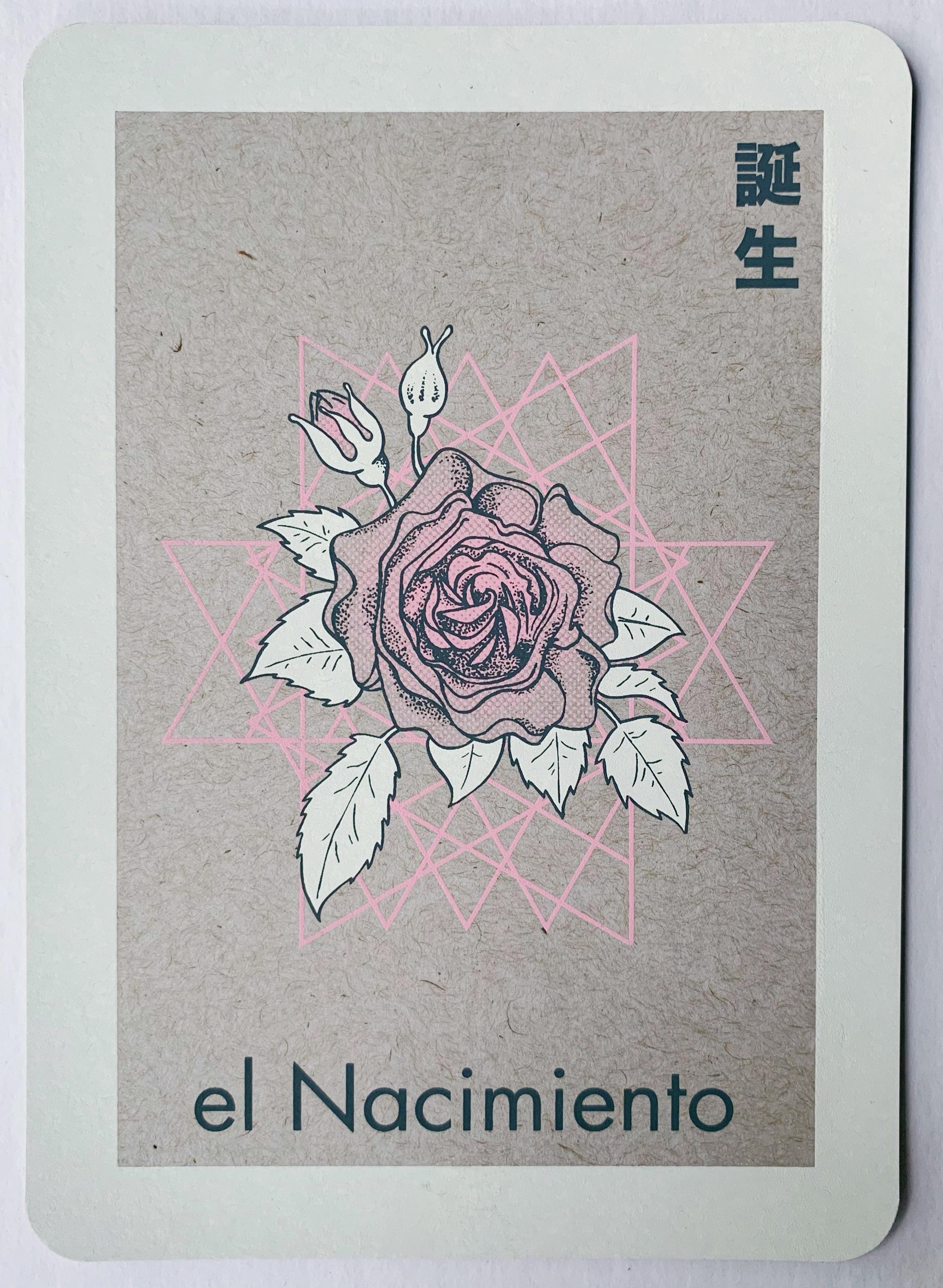 el Nacimiento, serigraphy, 2018