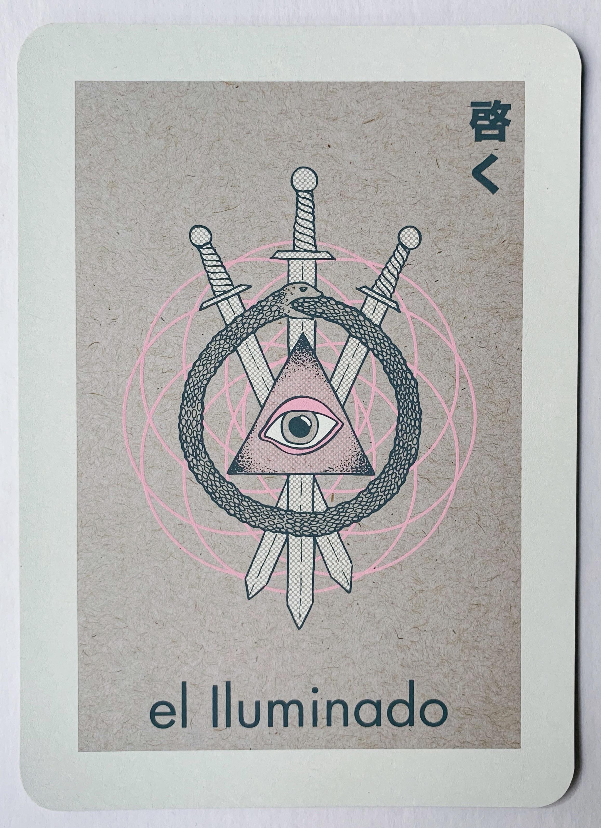 el Iluminado, serigraphy, 2018