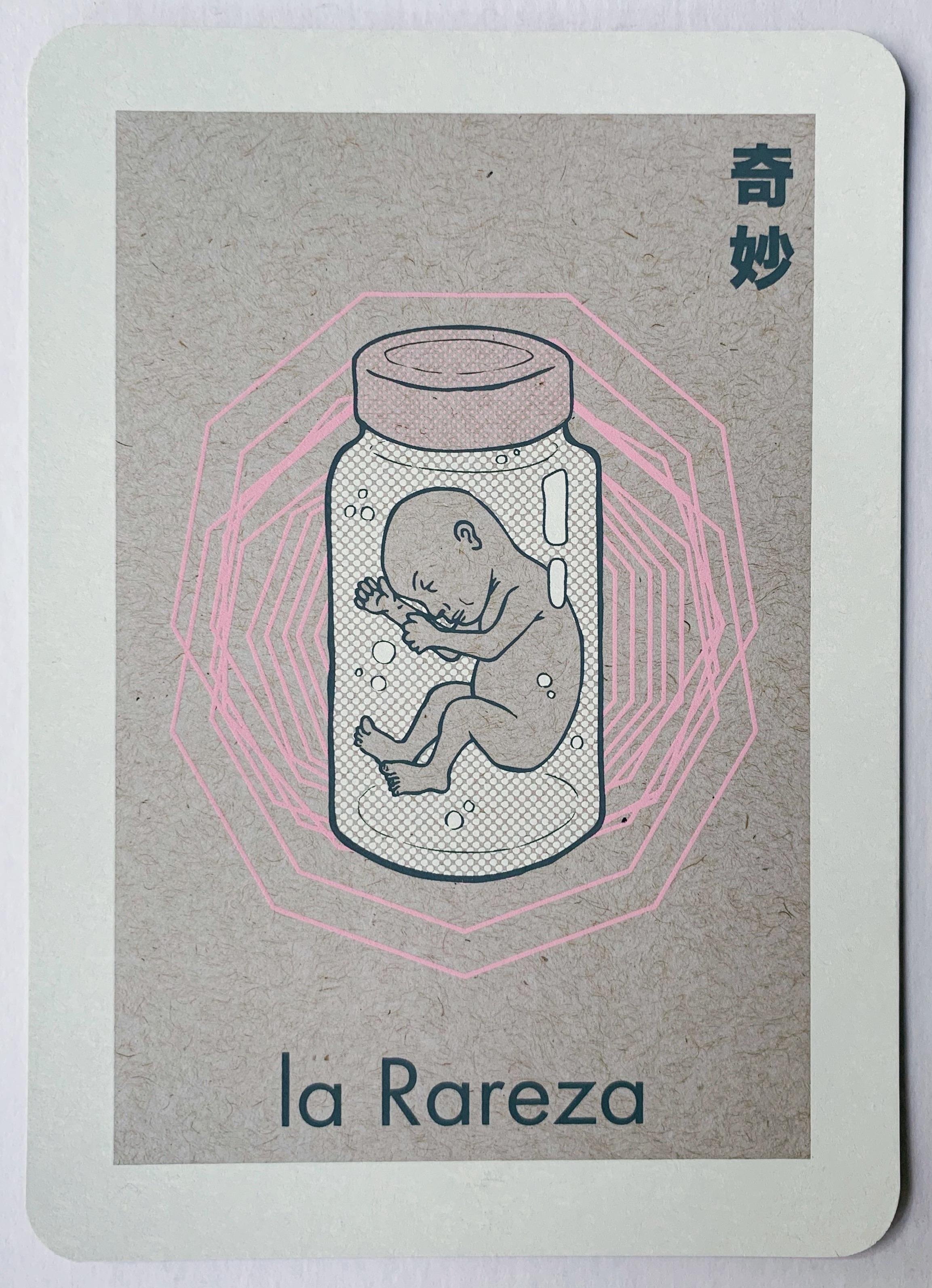 la Rareza, serigraphy, 2017