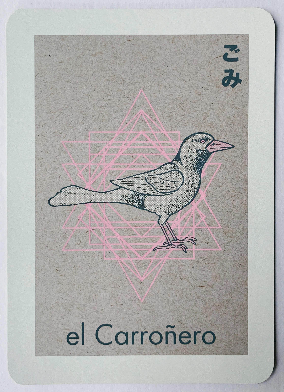 el Carroñero, serigraphy, 2018