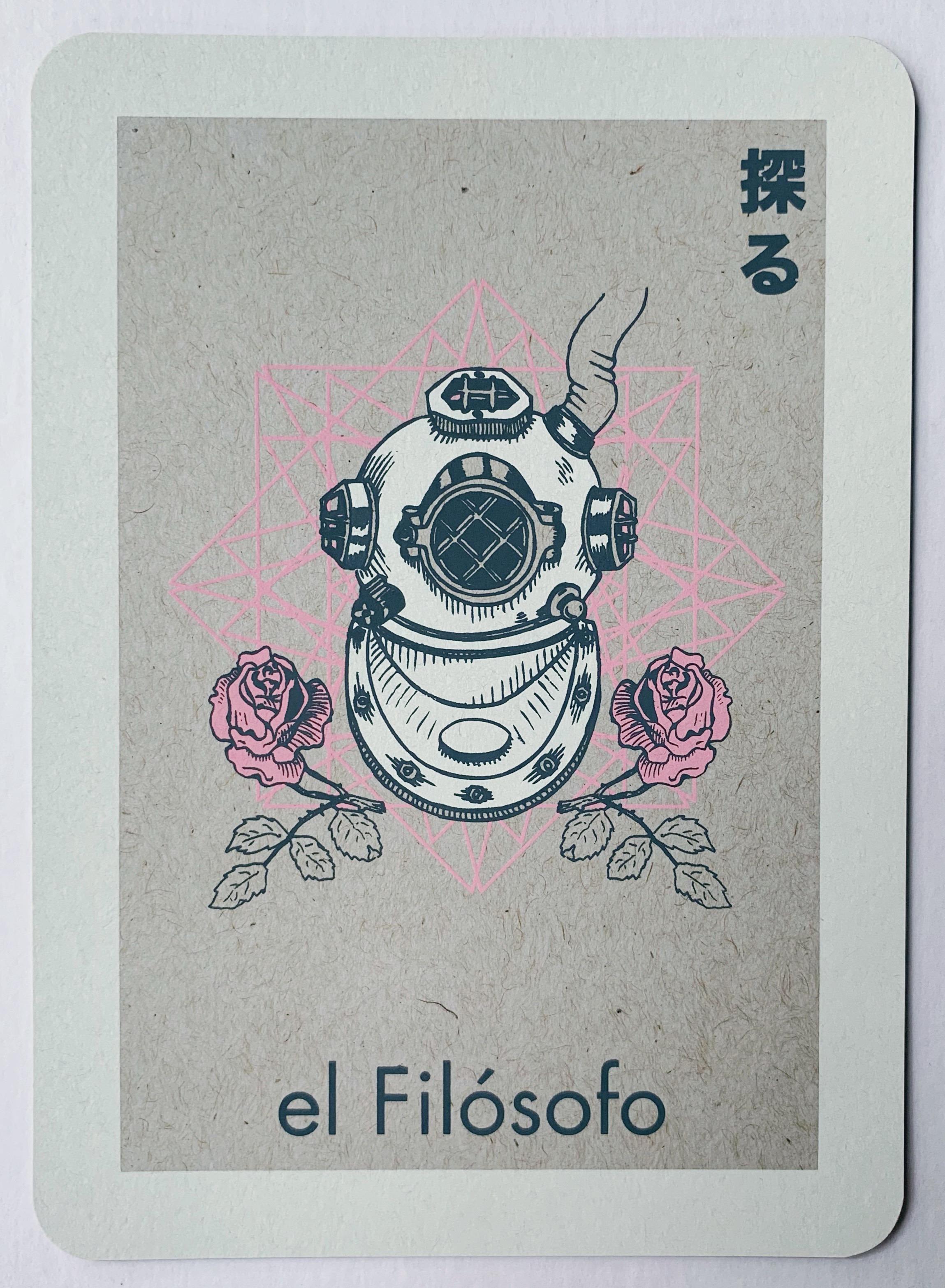 el Filósofo, serigraphy, 2017