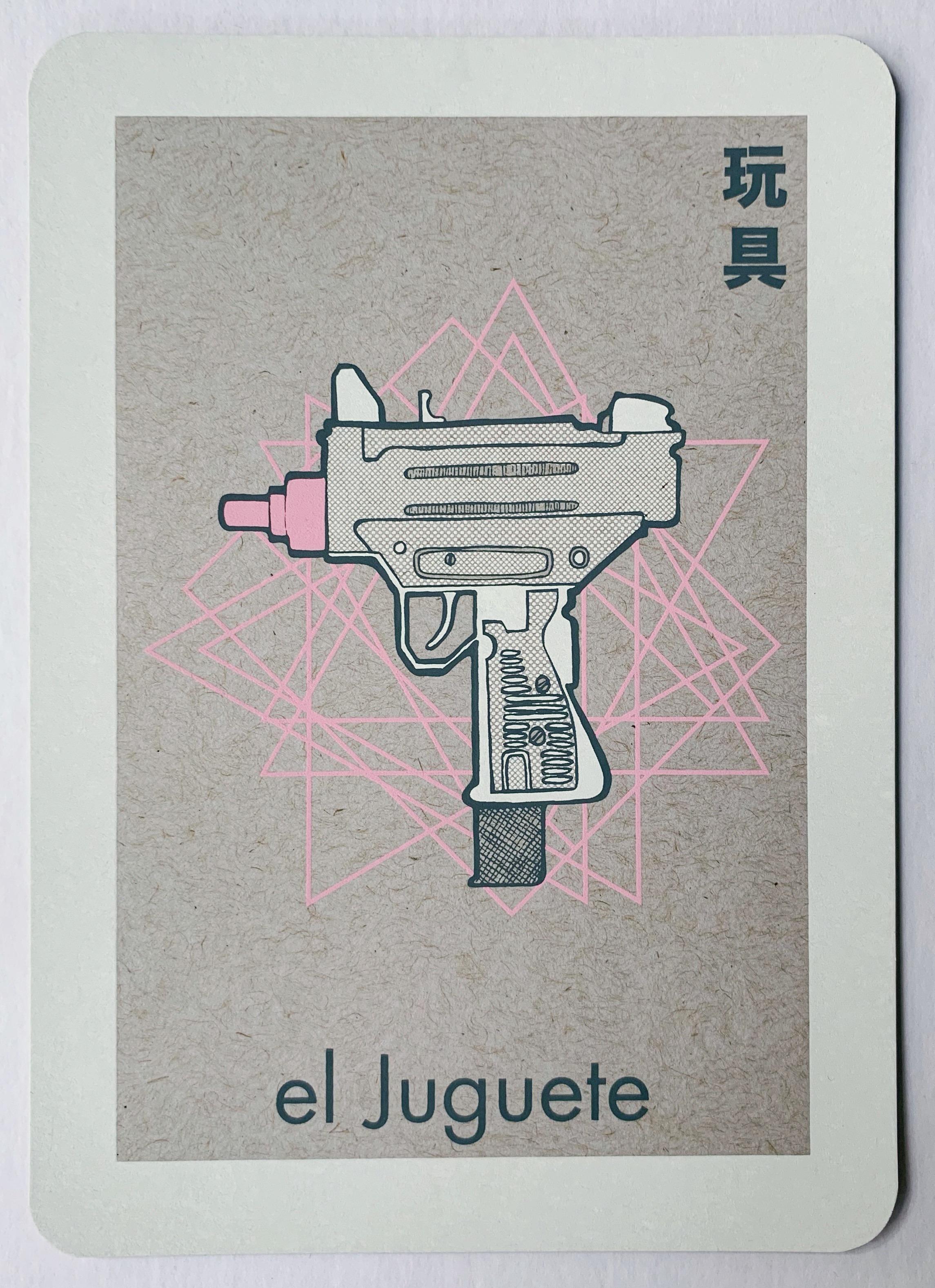 el Juguete, serigraphy, 2017