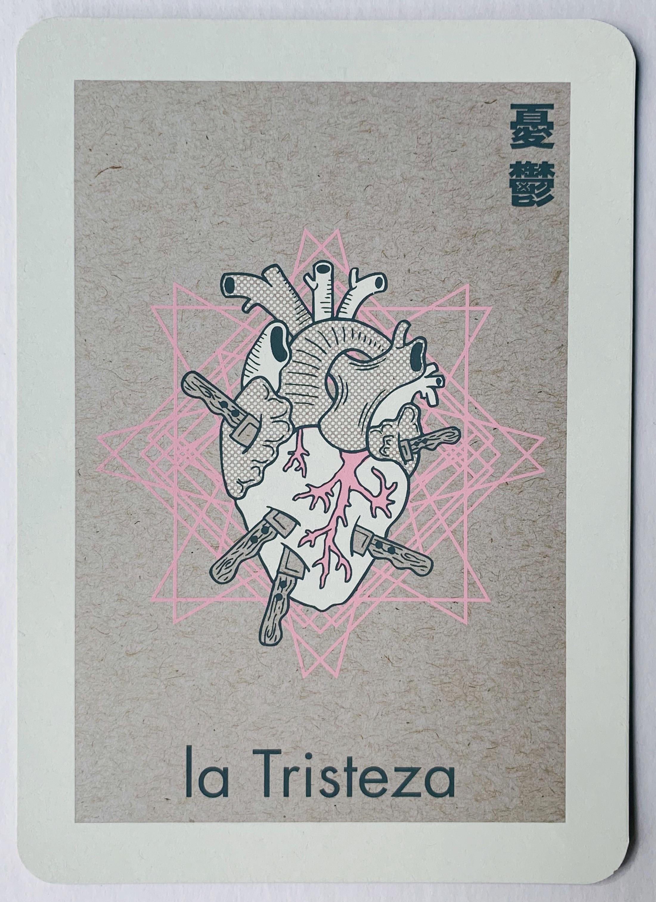 la Tristeza, serigraphy, 2017