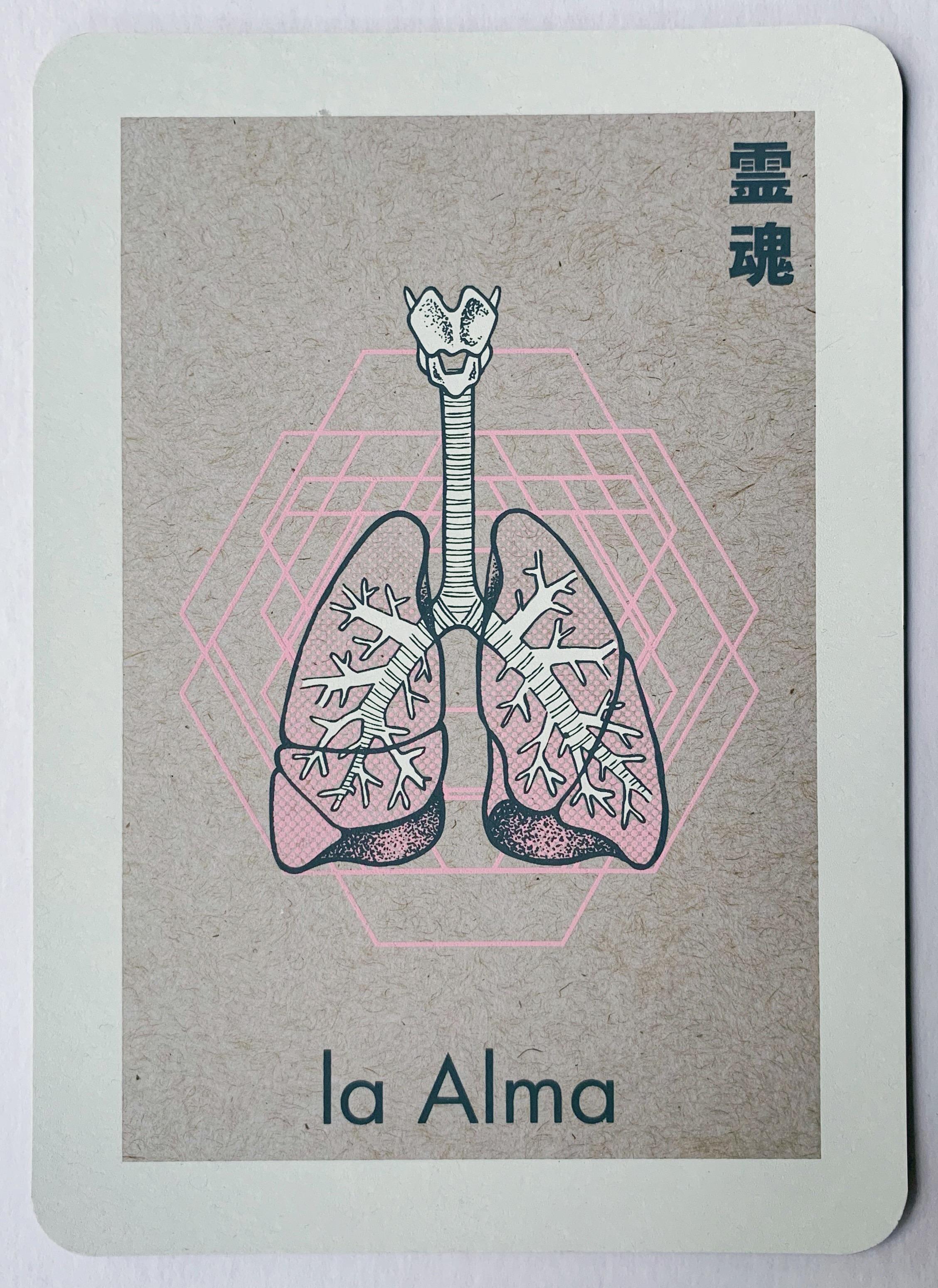 la Alma, serigraphy, 2018
