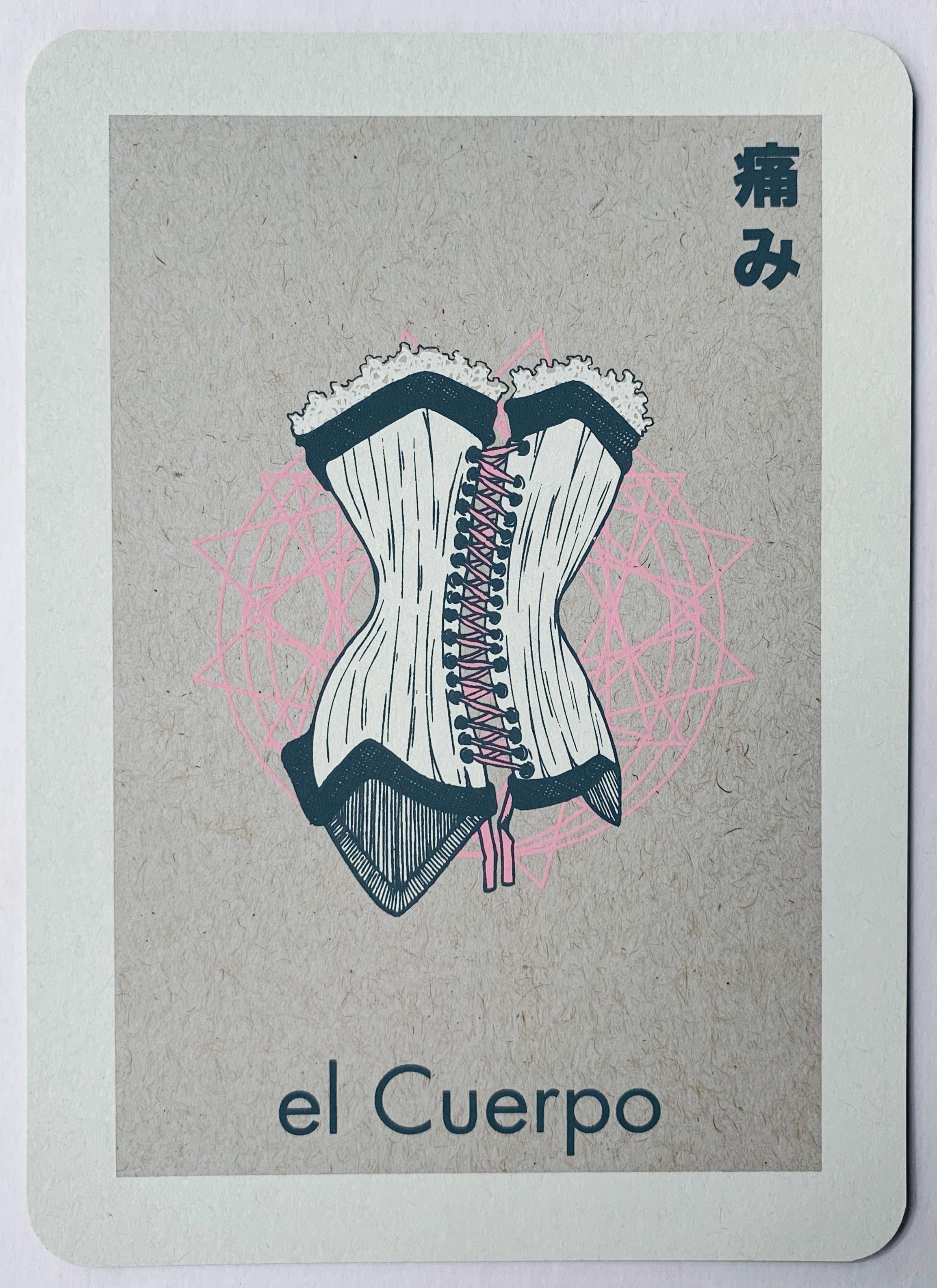 el Cuerpo, serigraphy, 2017