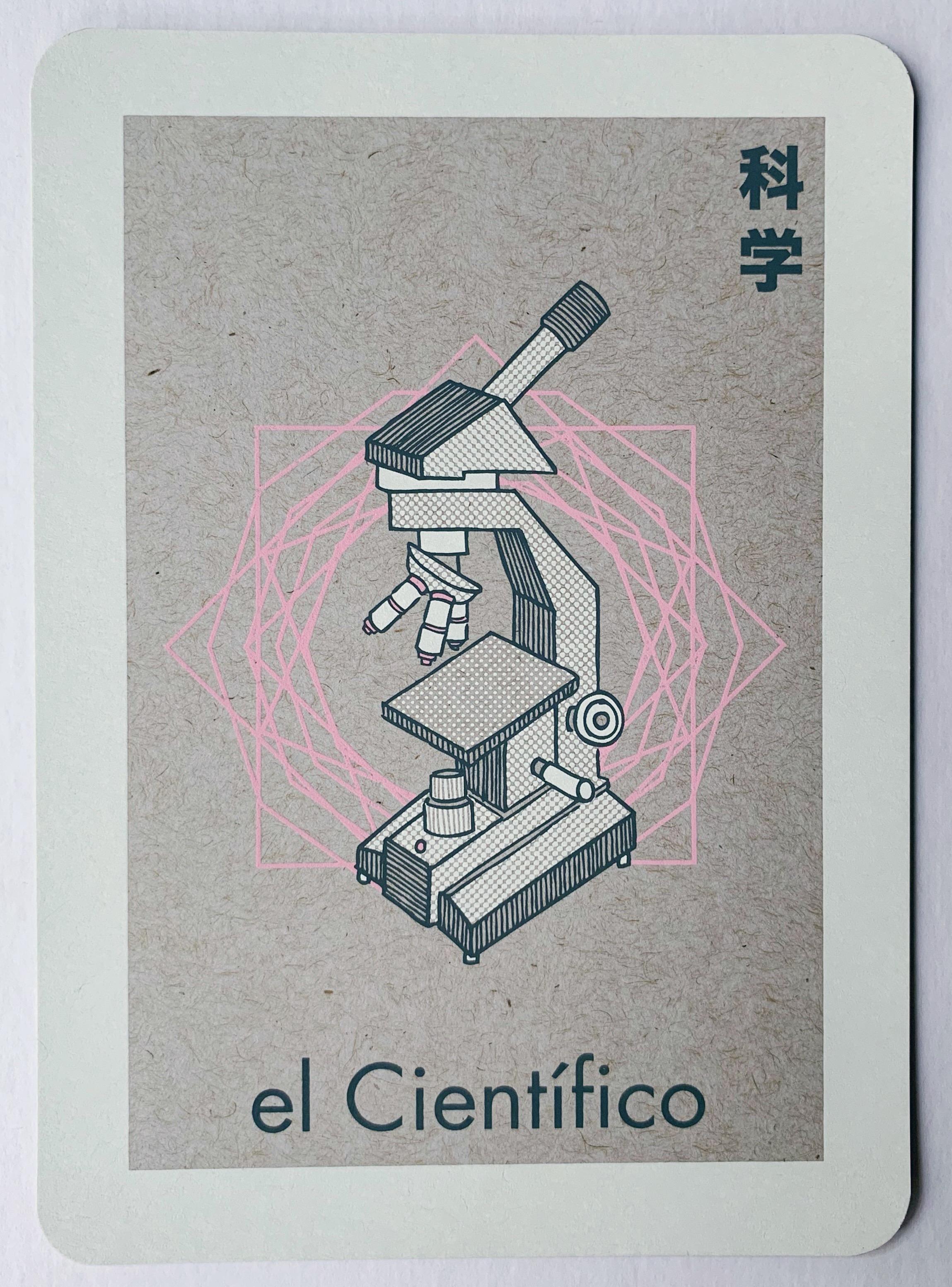 el Científico, serigraphy, 2017