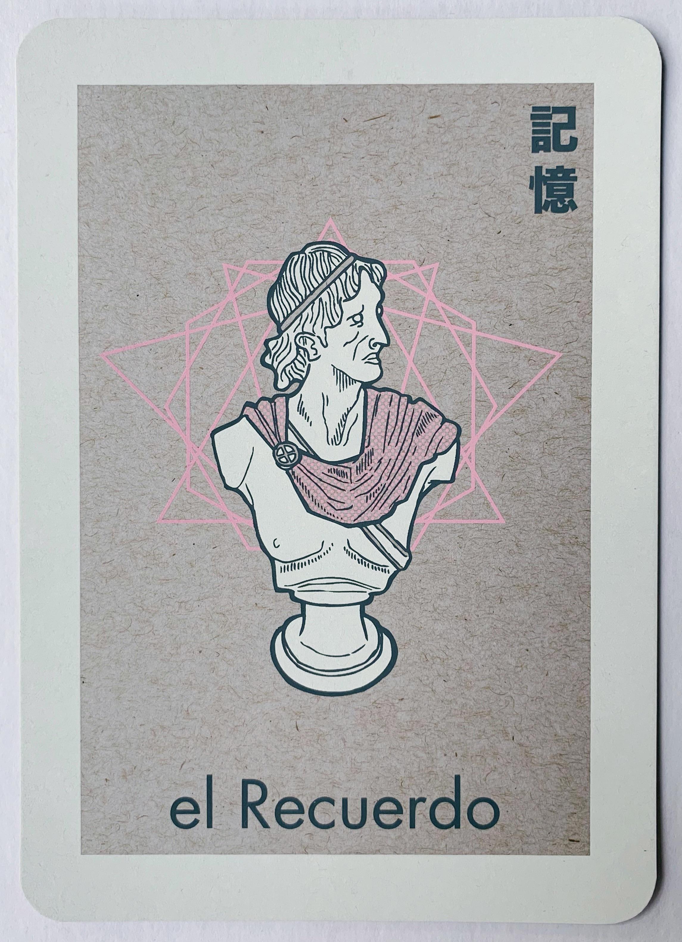 el Recuerdo, serigraphy, 2017