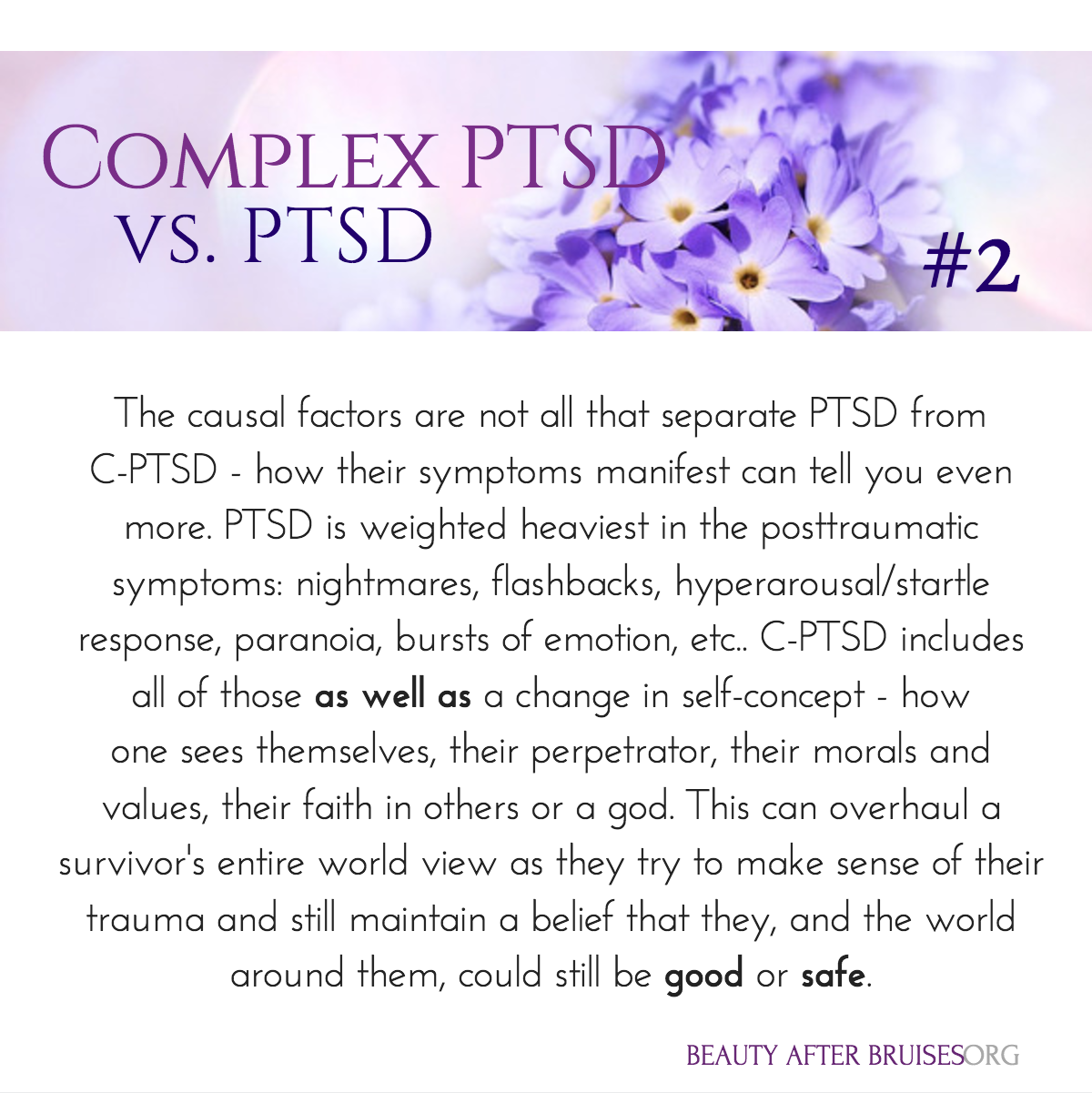 What is C-PTSD? — Beauty After Bruises