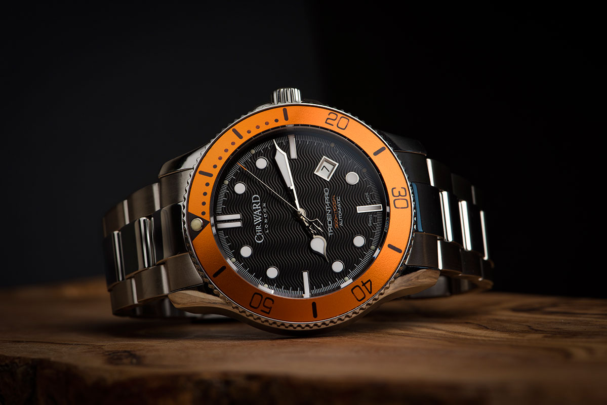 Christopher Ward London C60 Trident automatic - Orange