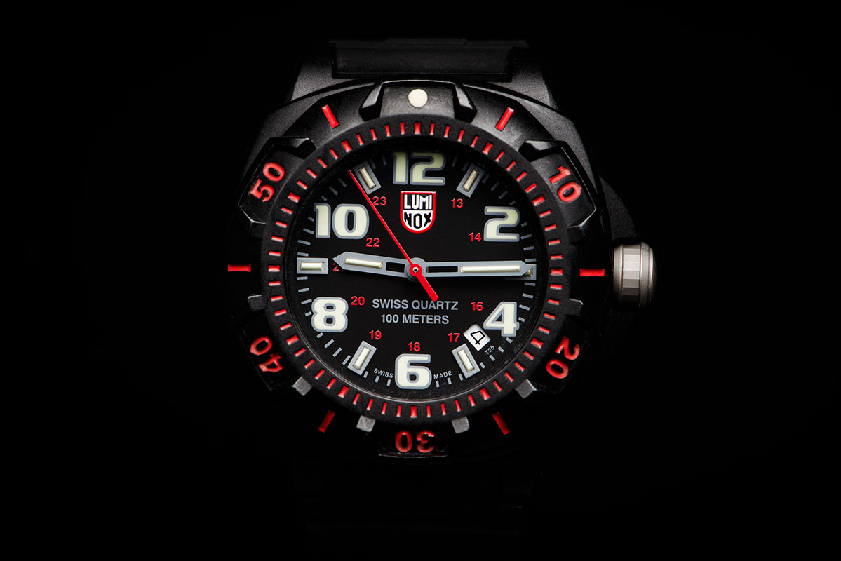 Luminox Sentry 0200 XL.0215.SL 43mm Watch with Luminox LLT Technology