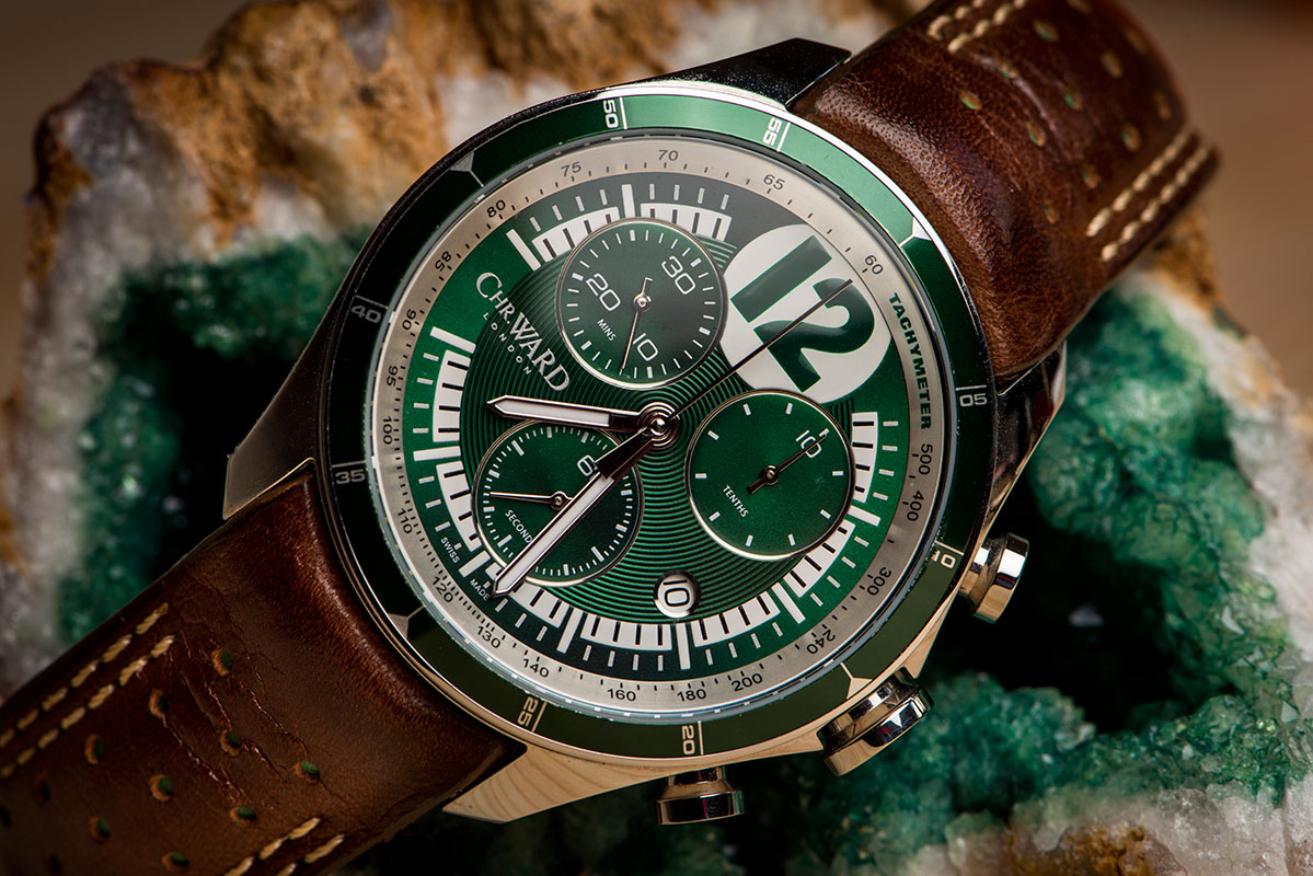 Christopher Ward C70 British Racing Green - Limited edition watch