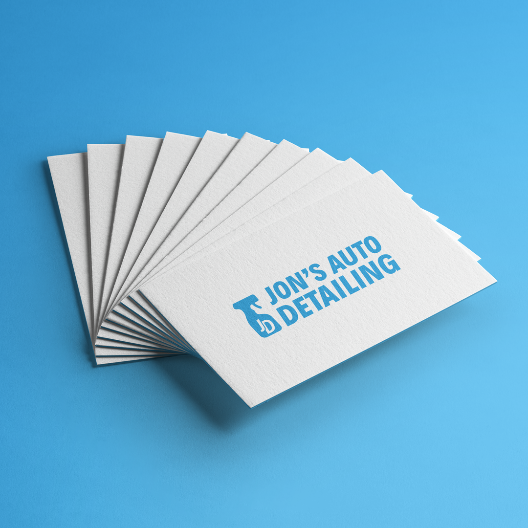 Jon's Auto Detailing / Identity Branding Project