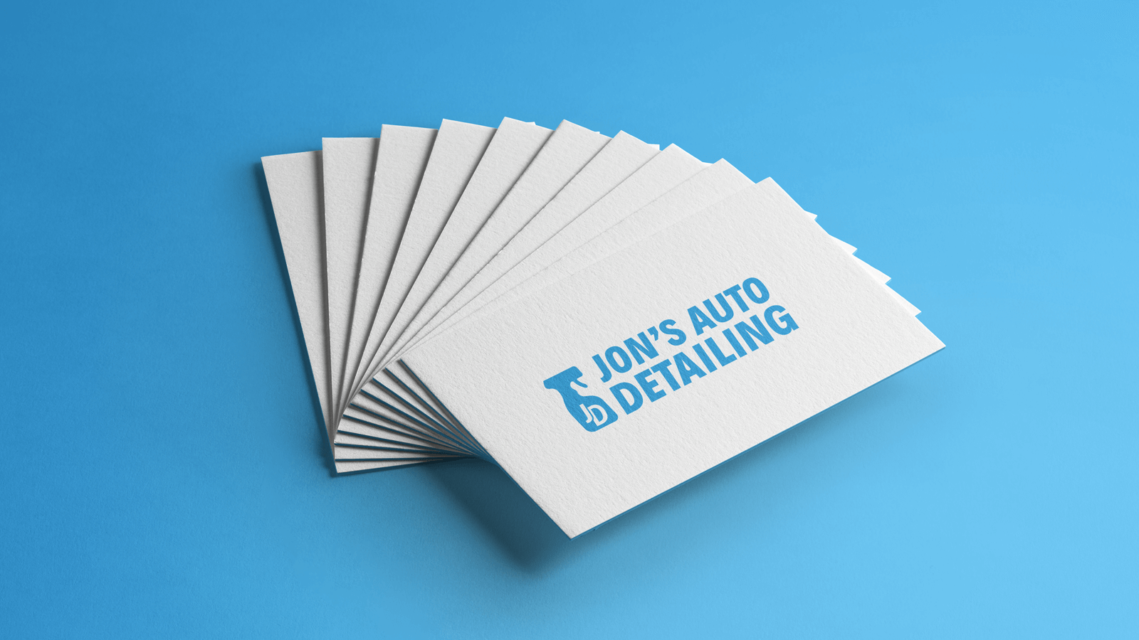Jon's Auto Detailing - Branding + Identity Project