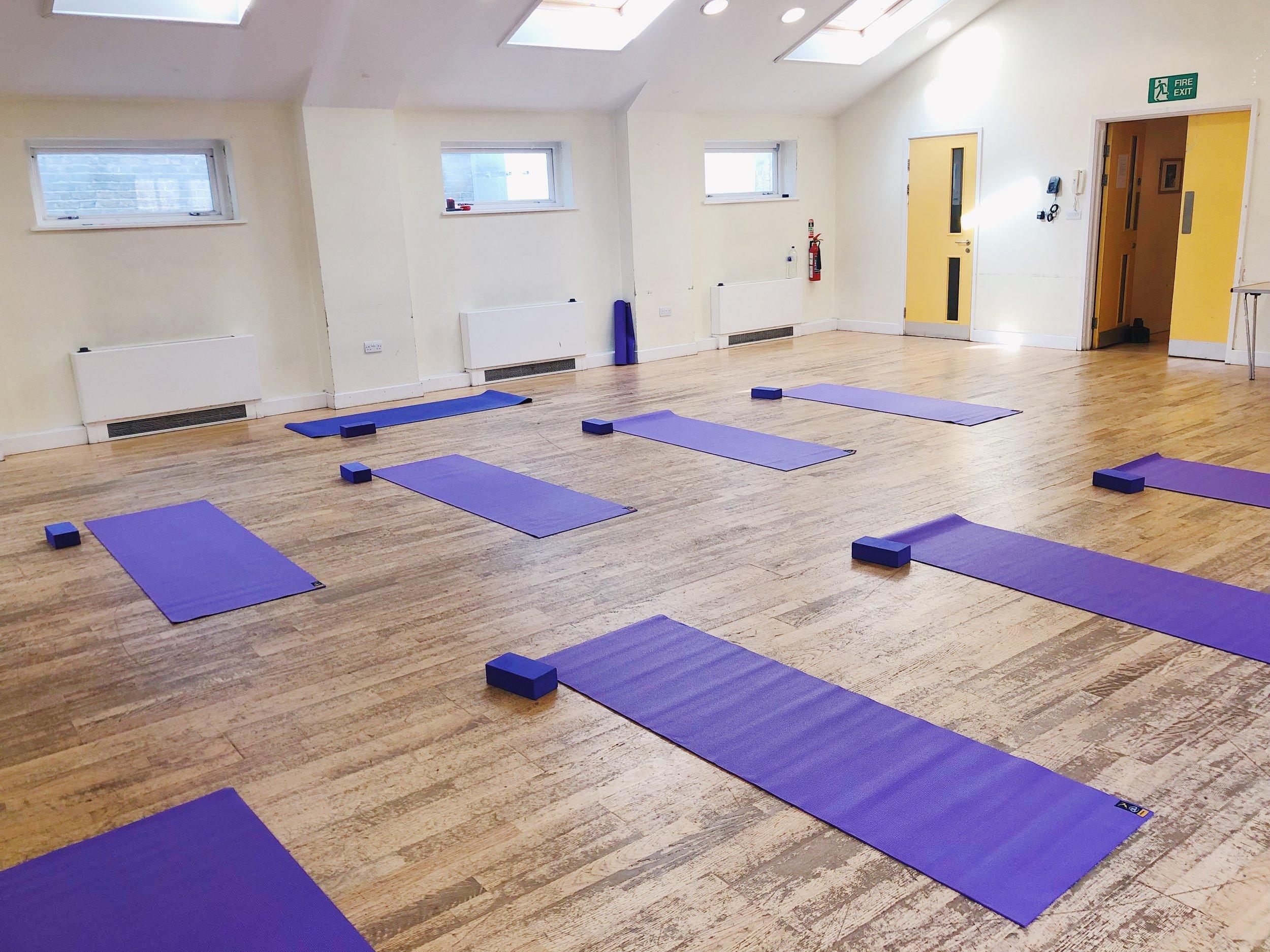 Camden Town Yoga studio
