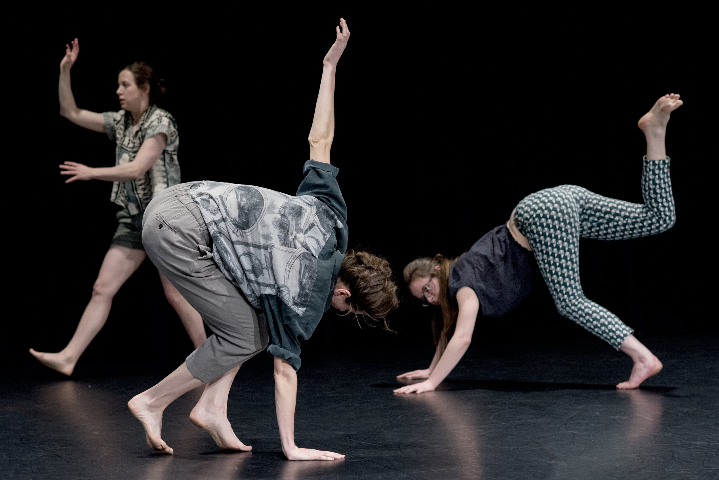 Nora performing Where Home Is by Deborah Hay. Photo: Camilla Greenwell
