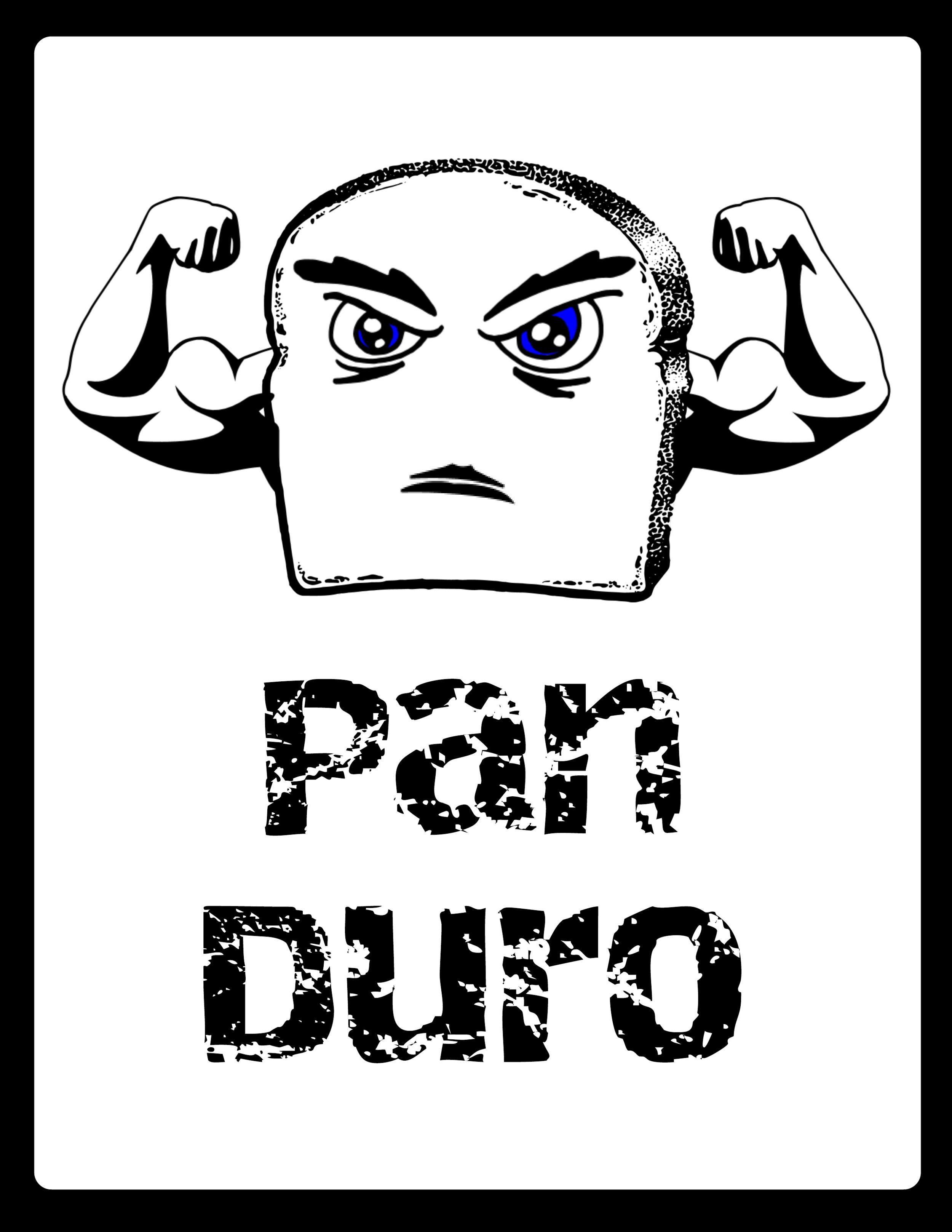 Pan Duro - Free Spanish Poster