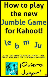 Click the image above to try out Jumble on Kahoot!