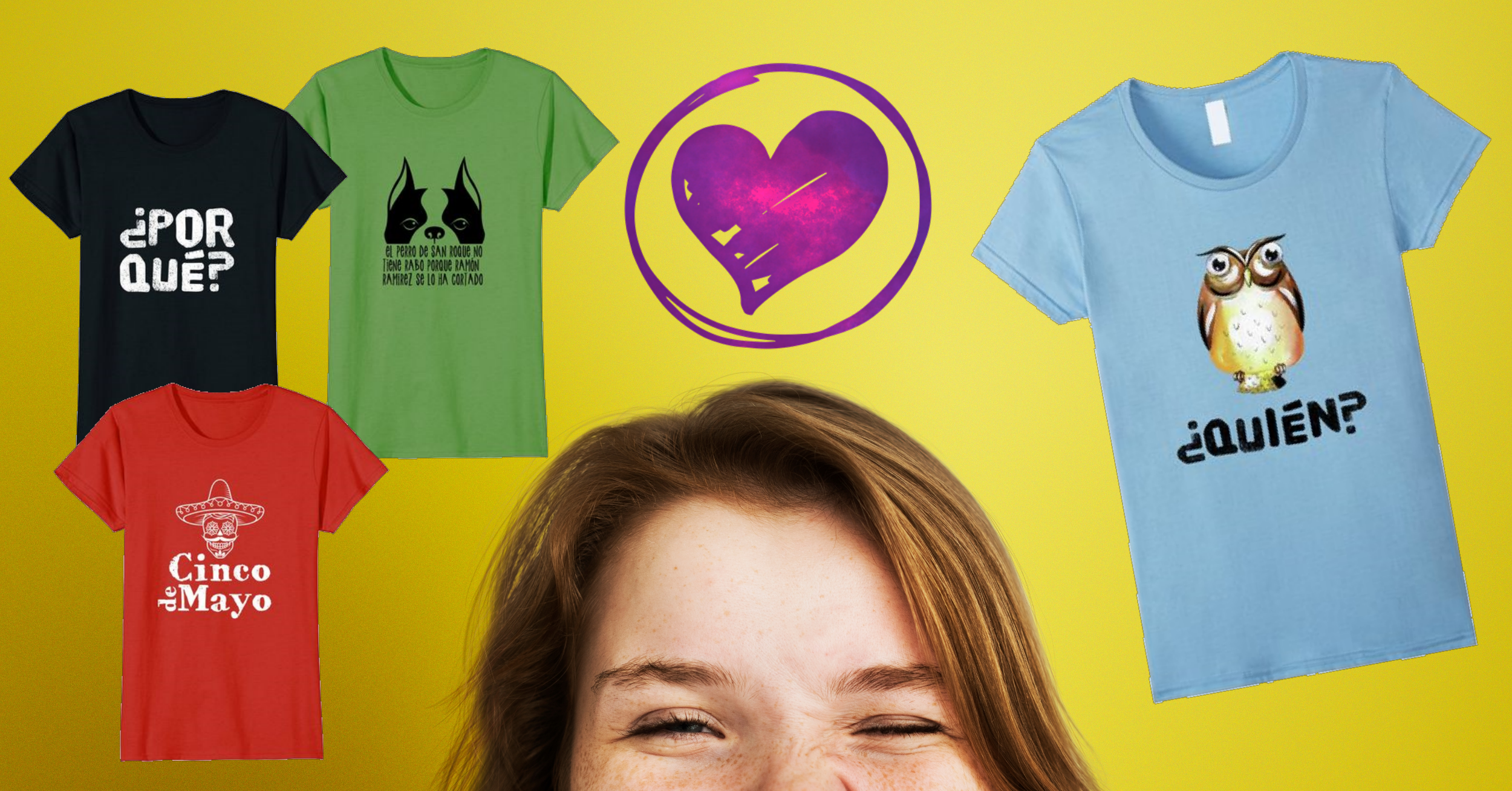 Need a T-Shirt? - Visit our page for fun Spanish Tees!