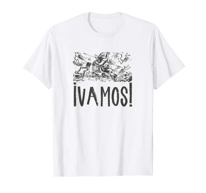 Vamos Calavera Posada - Click image to see all T-Shirt options