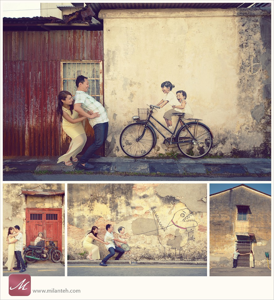penang-mural-wedding-photo