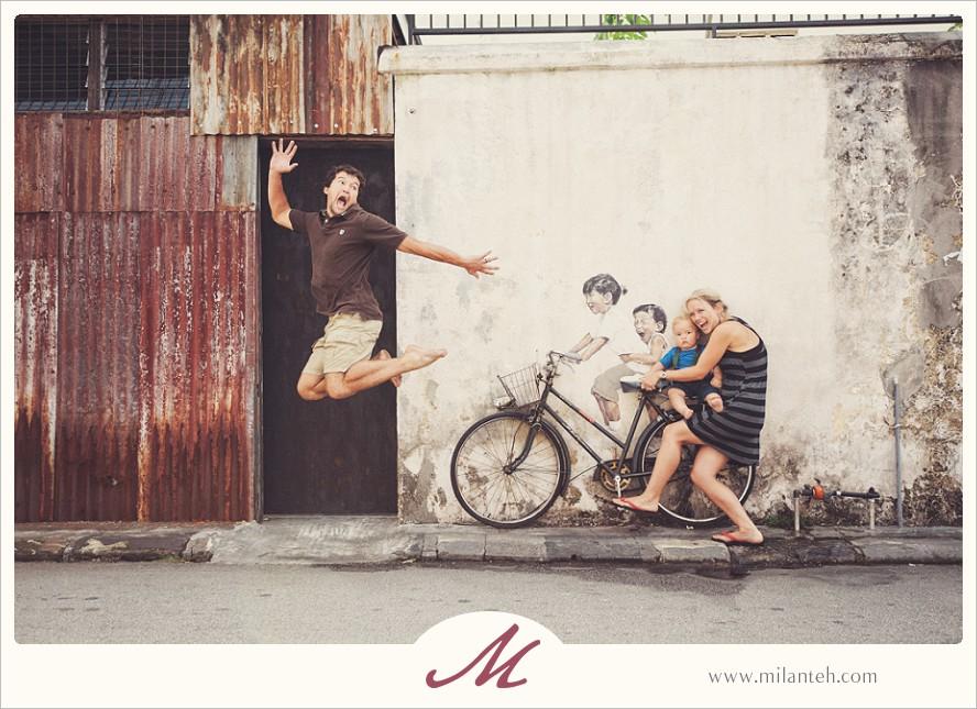 penang-heritage-bike-mural-photoshoot