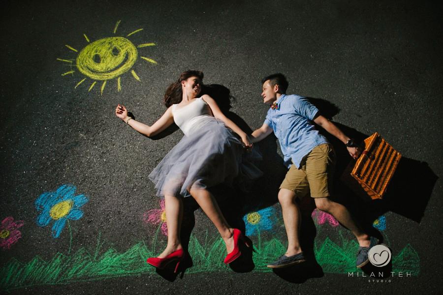 creative couple portrait in penang