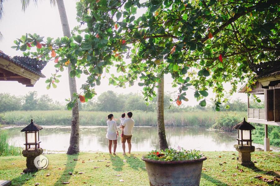 family together at bon ton resort langkawi