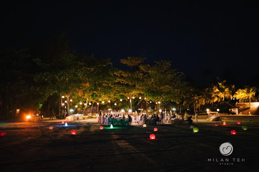 four seasons resort langkawi wedding dinner