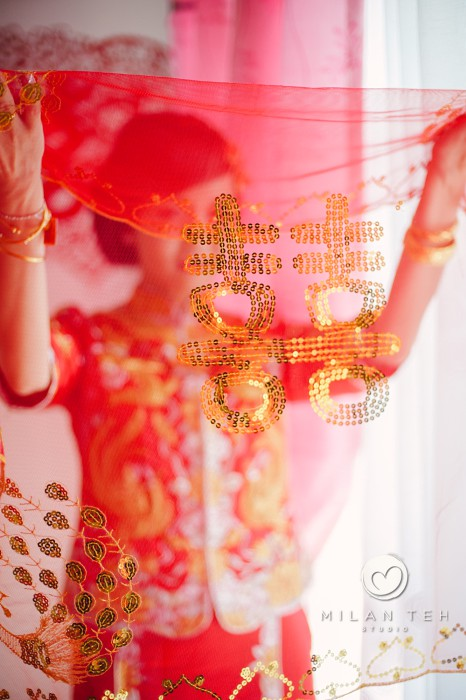 traditional chinese bride with kua
