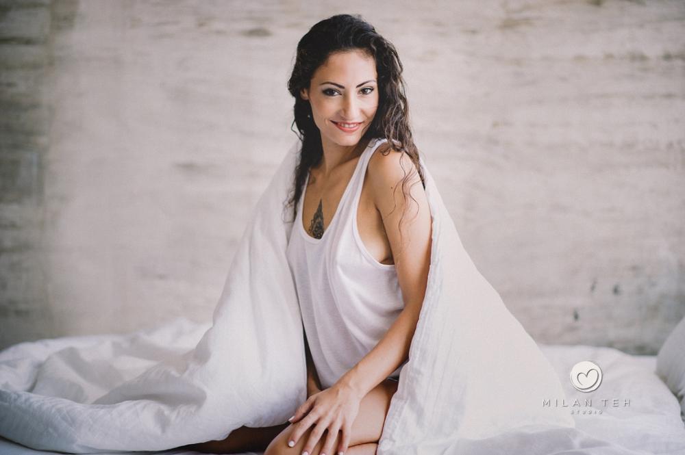 sensual girl in white boudoir photography penang malaysia