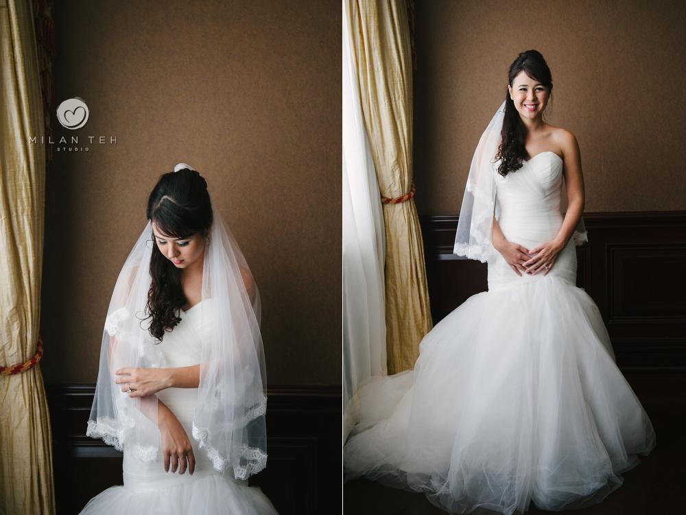 bridal photo in penang E&O hotel