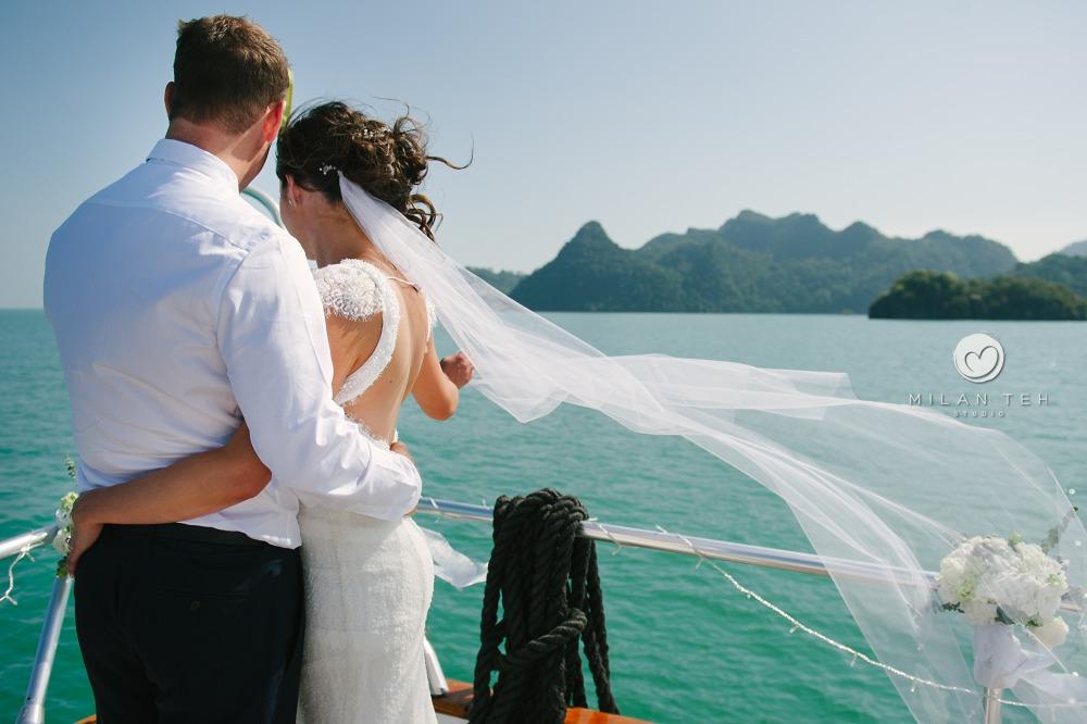 yacht wedding langkawi