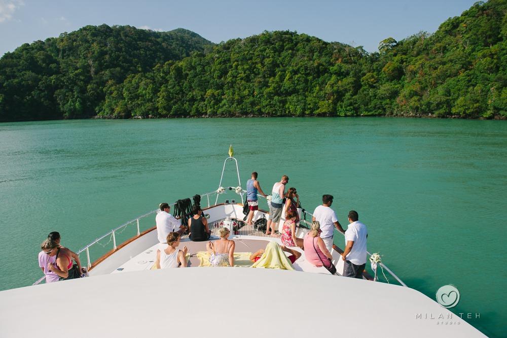 yacht-langkawi-wedding-party
