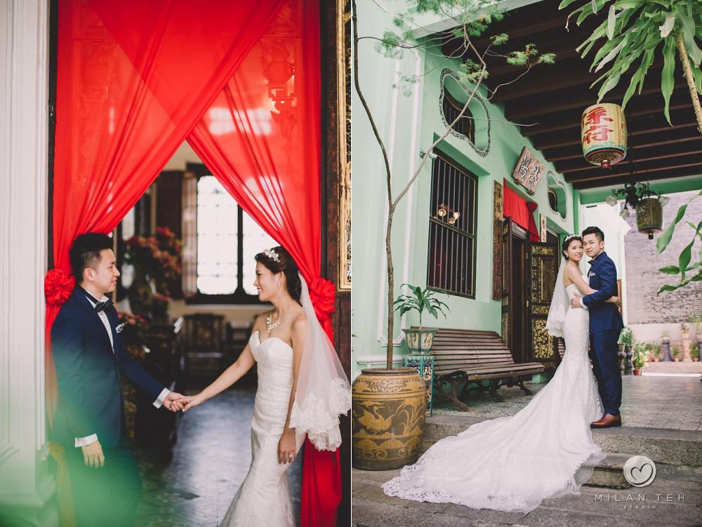 wedding photo penang peranakan mansion