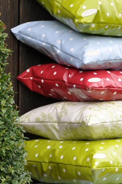 Oily Rag outdoor cushions